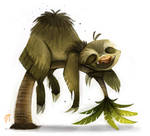 Day 522. Sketch Dailies Challenge - Sloth