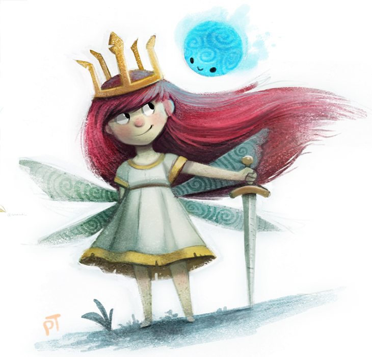 Day 527. Child of Light by Cryptid-Creations