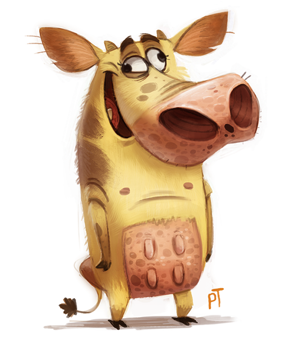 Day 535. Cow and Chicken