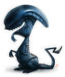 Day 540. Sketch Dailies Challenge - Xenomorph