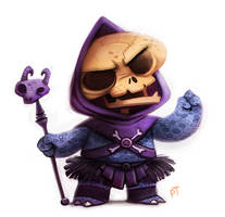 Day 550. Skeletor