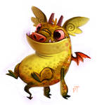 Day 552. Dave The Barbarian. Faffy