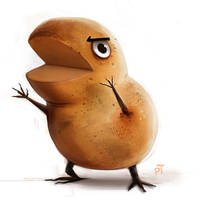Day 571. Potato Monster by Cryptid-Creations