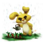 Day 575. Pooh Crossing - Rabbit