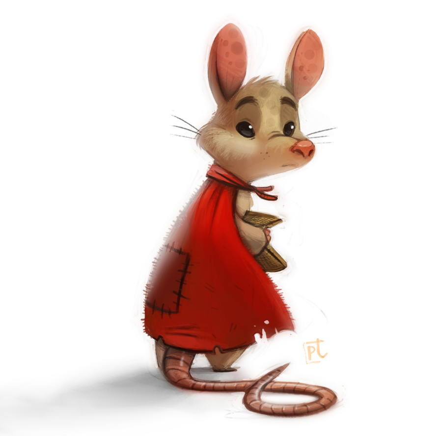 Daily Paint #624 - Mrs. Frisby by Cryptid-Creations