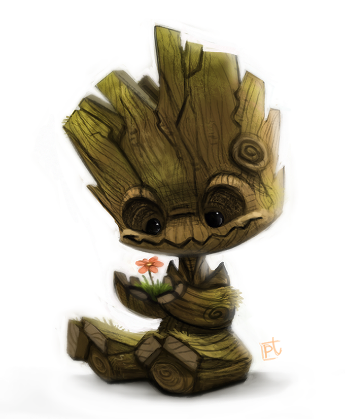 Daily Paint #628 - Groot