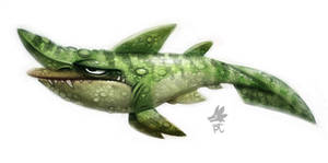 Daily Paint #635 - Goblin Shark