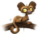 Daily Paint #642. Foosa Quickie