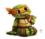Daily Paint #648. TMNT