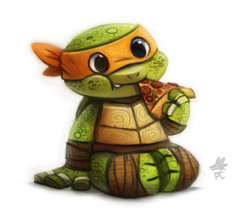 Daily Paint #648. TMNT by Cryptid-Creations