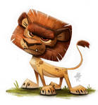Daily Paint 654. Lion