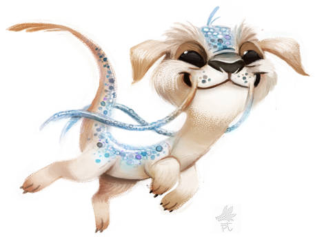 Daily Paint #669. Falcor