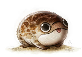 Daily Paint #670 - Desert Frog Quickie