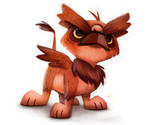 Daily Paint #675. Griffon Quickie