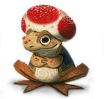 Day 710. Mario - Toad