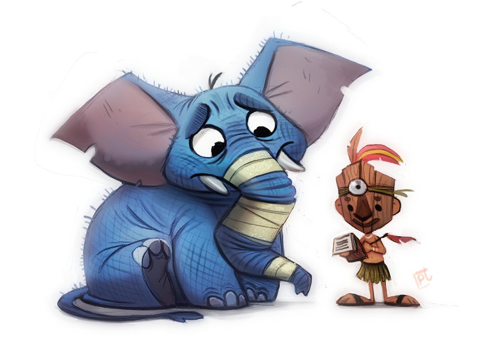 Daily Painting 721 - SketchDailies - WitchDoctor by Cryptid-Creations