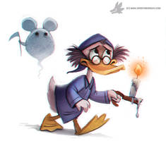 Daily Painting 764. #scrooge by Cryptid-Creations