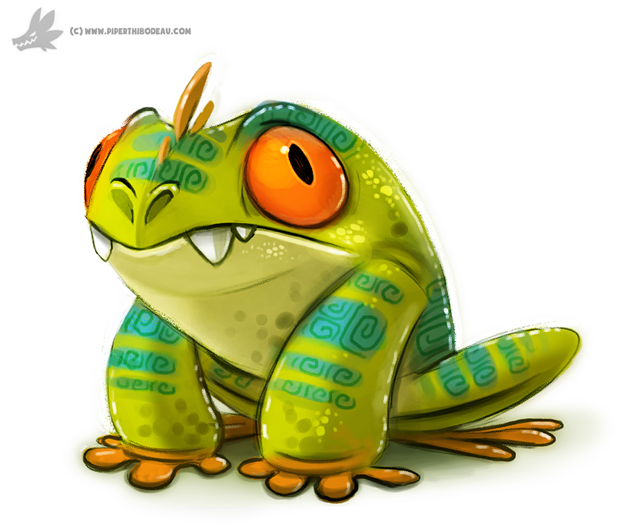 Day 776 Mutant Tree Frog By Cryptid Creations On DeviantArt