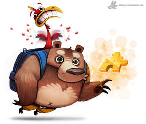Day 785. Banjo Kazooie