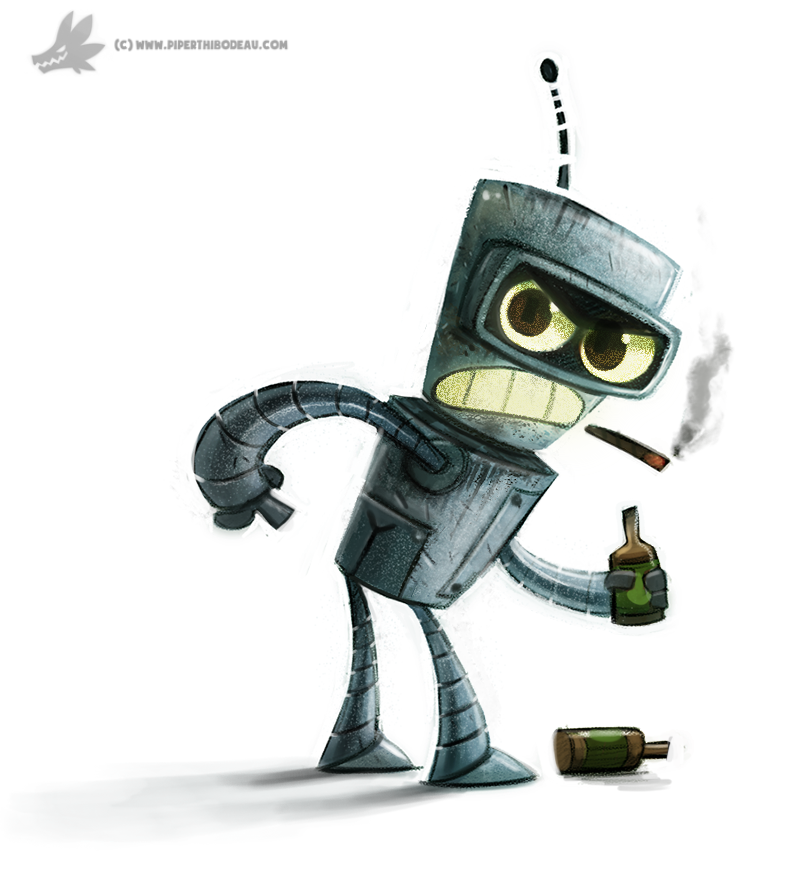 Day 811 Bender By Cryptid Creations On Deviantart