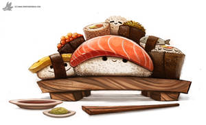 Day 830. Sushi Party