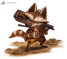 Day 846# Rocket Racoon