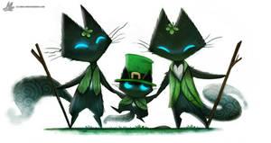 Day 847# Happy St-Patrick's Day #Sidhe