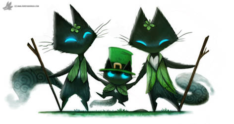 Day 847# Happy St-Patrick's Day #Sidhe