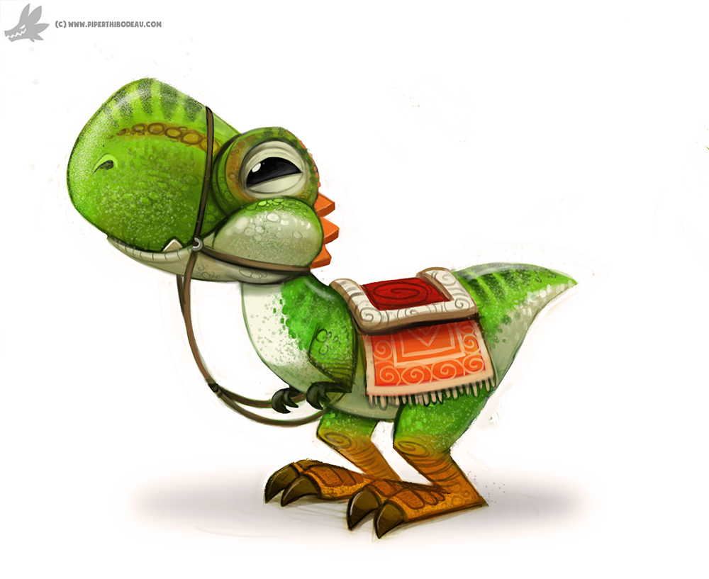 Daily Painting 852. Yoshi by Cryptid-Creations
