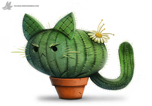 Daily Painting #854. Catcus