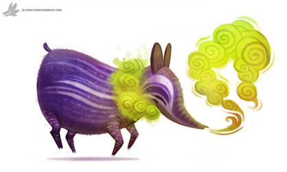 Daily Painting #860. Dream Eater by Cryptid-Creations