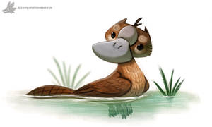 Daily Painting #869. Platygriff