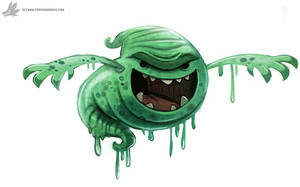 Day 871# - Slimer Quickie by Cryptid-Creations
