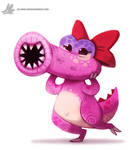 Daily Painting 880. Birdo by Cryptid-Creations