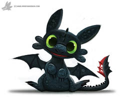 Toothless Chibi