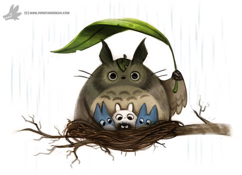 Daily Painting #911 - Totorooooo