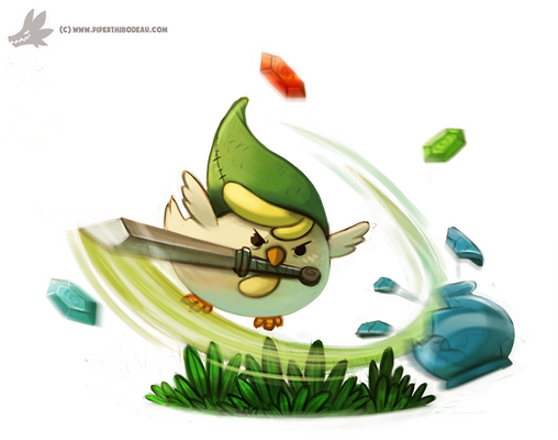 Daily Painting #930. Cucco Link