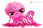 Daily Painting #935. Gummy Octopus