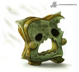 Daily Painting #947. Mold Zombie (OG)