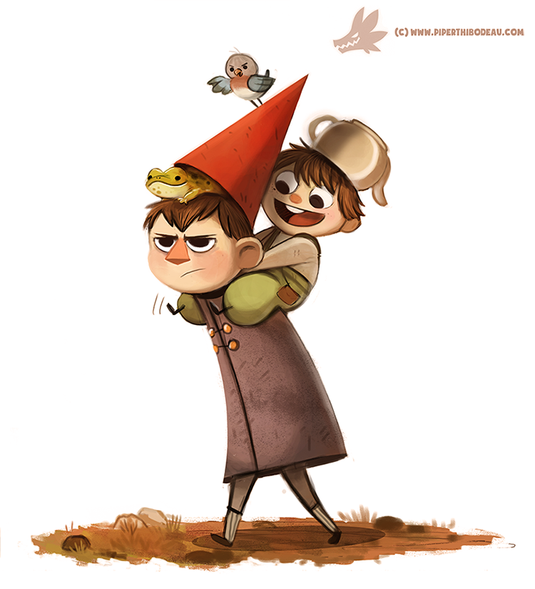 Daily Painting 963. Over The Garden Wall (FA) by Cryptid-Creations