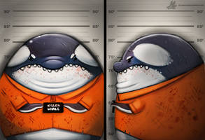 Daily Painting #968. Killer Whale (OG) by Cryptid-Creations