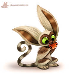 Daily Paint #985. Momo (FA)
