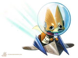 Daily Paint #994. Star Fox Sixty Fouuuuuuur (FA)