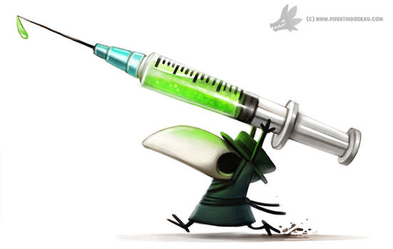 Daily Paint #1007. Plague Doctor
