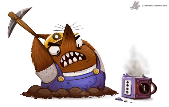 Daily Paint #1047. RESET THIS! (delayed daily)