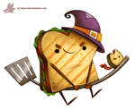 Daily Paint #1073. Sandwitch