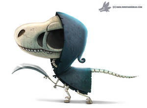 Daily Paint #1074. VelociReaper