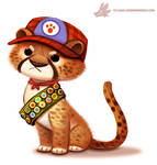 Daily Paint #1078. Cub Scout