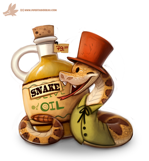 "Office of Poofness 1-17-16… ""Changes"" Daily_paint__1082__snake_oil_salesman_by_cryptid_creations-d9fwxiq"