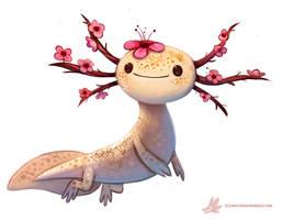 Daily Paint #1107. Blossom-lotl
